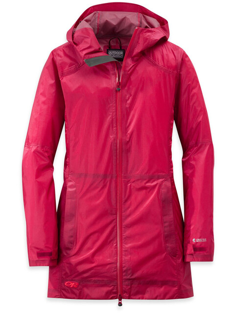 Outdoor Research W's Helium Traveler Jacket scarlet